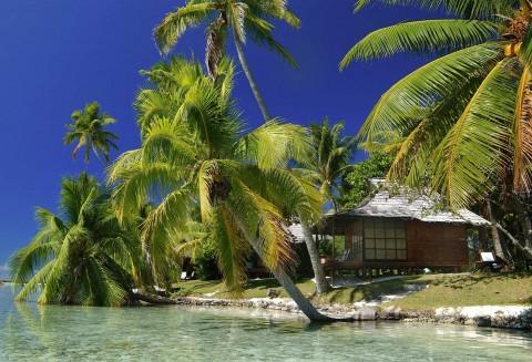 Motu Tu Vahine, French Polynesia.