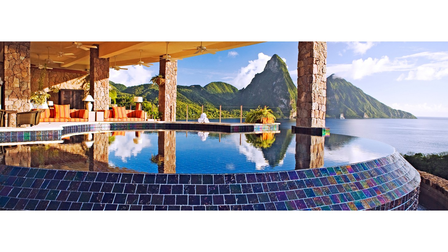 jade mountain hotel - st lucia - smith hotels