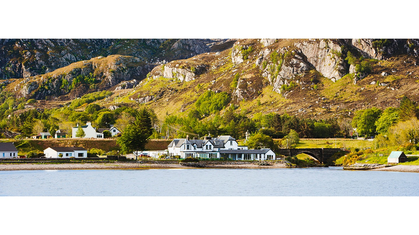 Pool house londubh wester ross scotland smith hotels - Luxury scottish hotels with swimming pools ...
