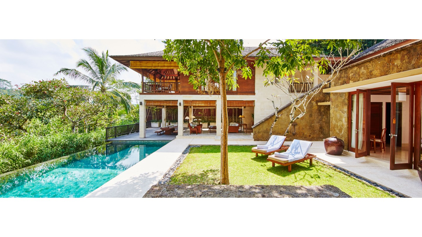 Como Shambhala Estate Three Bedroom Private Villa Luxury Villa In Ubud Bali Bali Smith