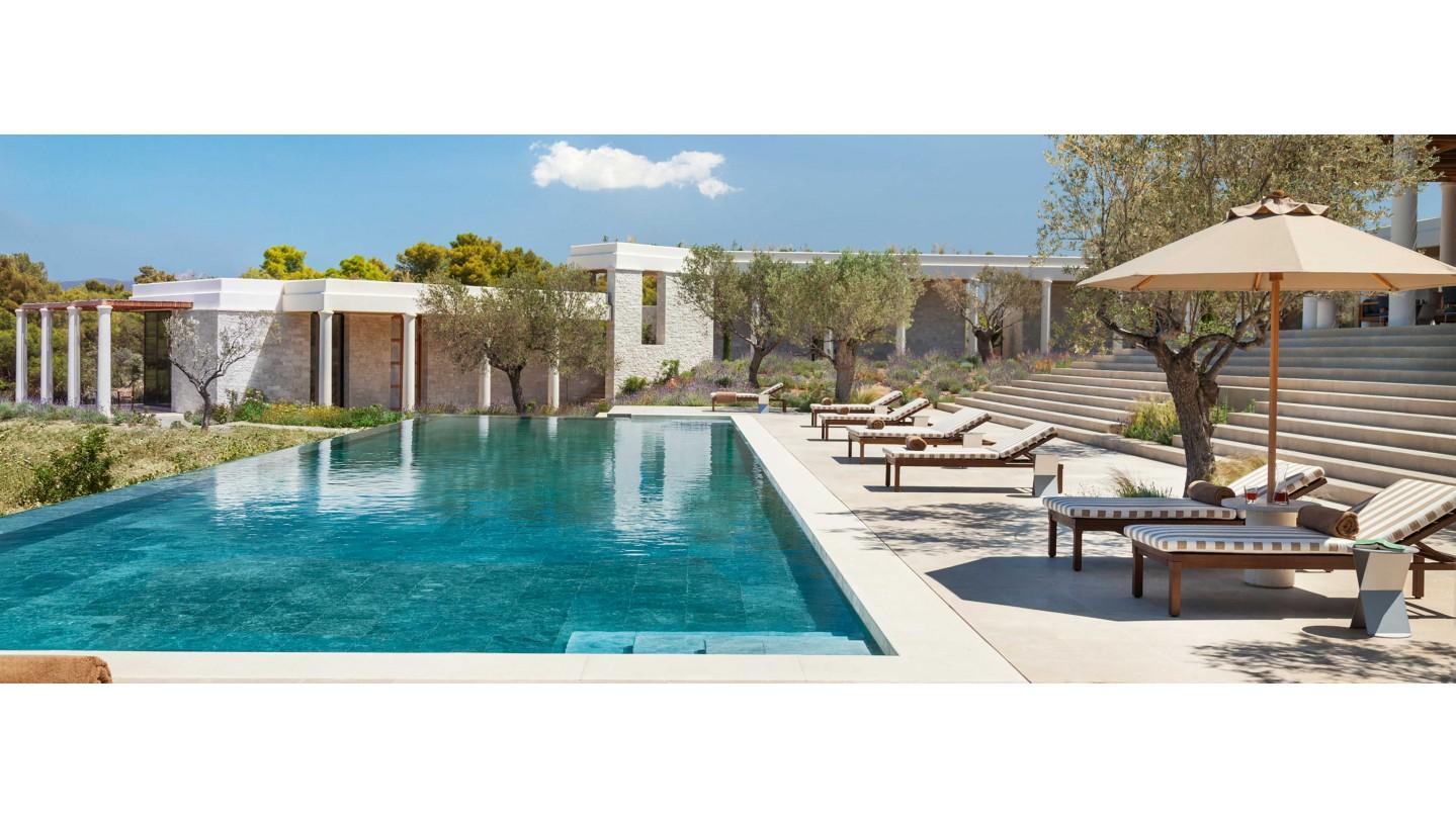 amanzoe hotel east peloponnese smith hotels
