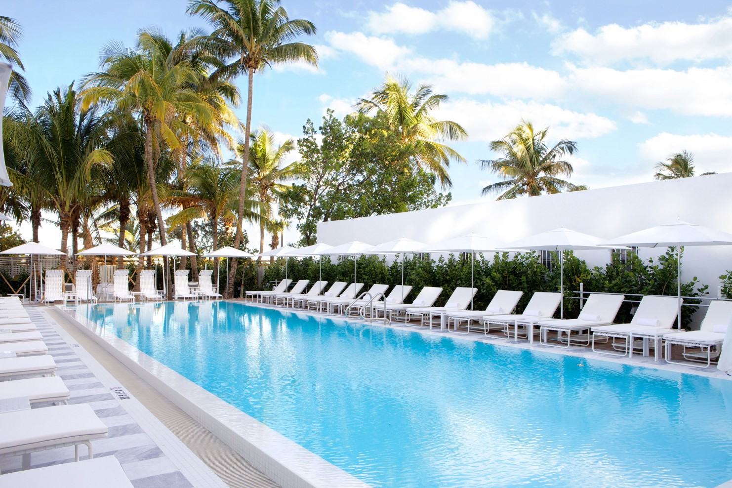 Como Metropolitan Miami Beach Hotel South Beach Miami Florida