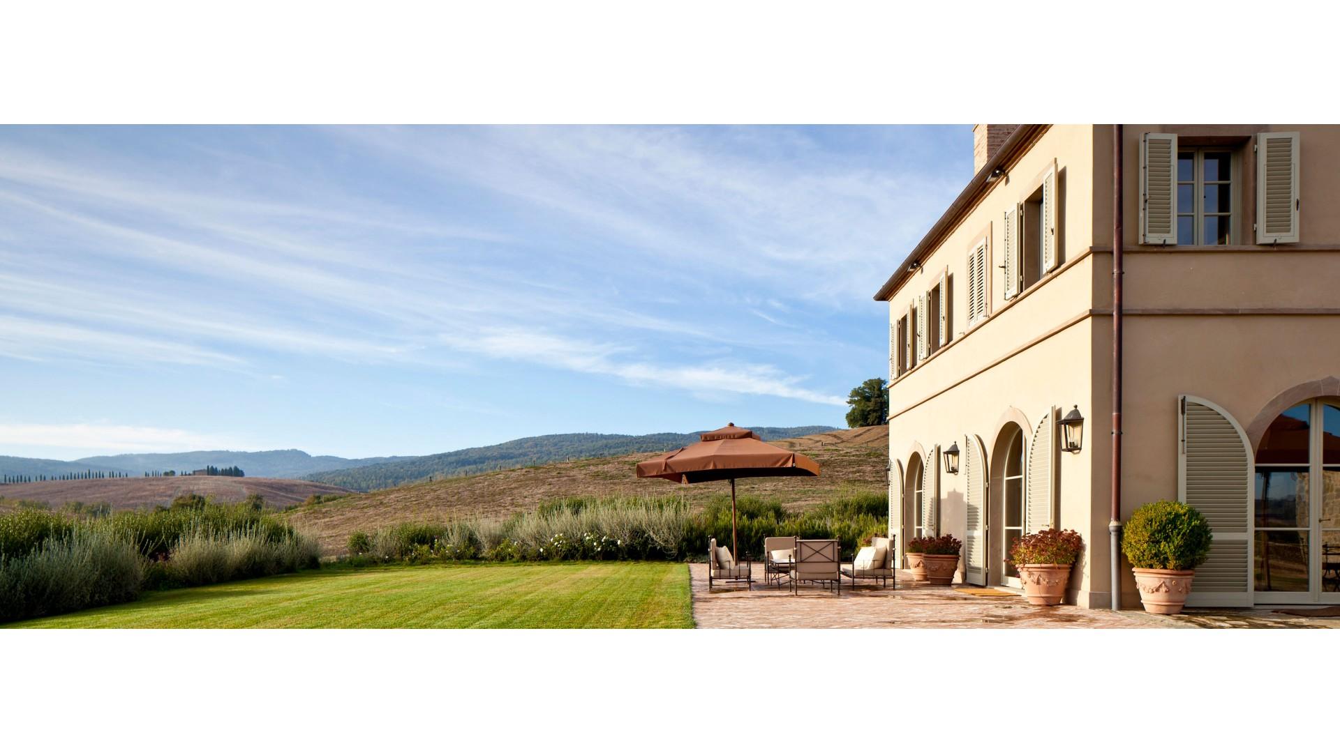 rosewood castiglion del bosco villa casa del fiume - Luxury Villas Tuscany