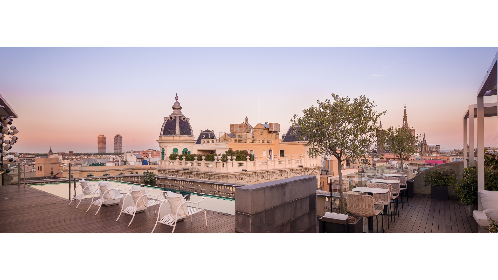 Hotel olah barcelona 2018 world 39 s best hotels for Ohla hotel barcelona