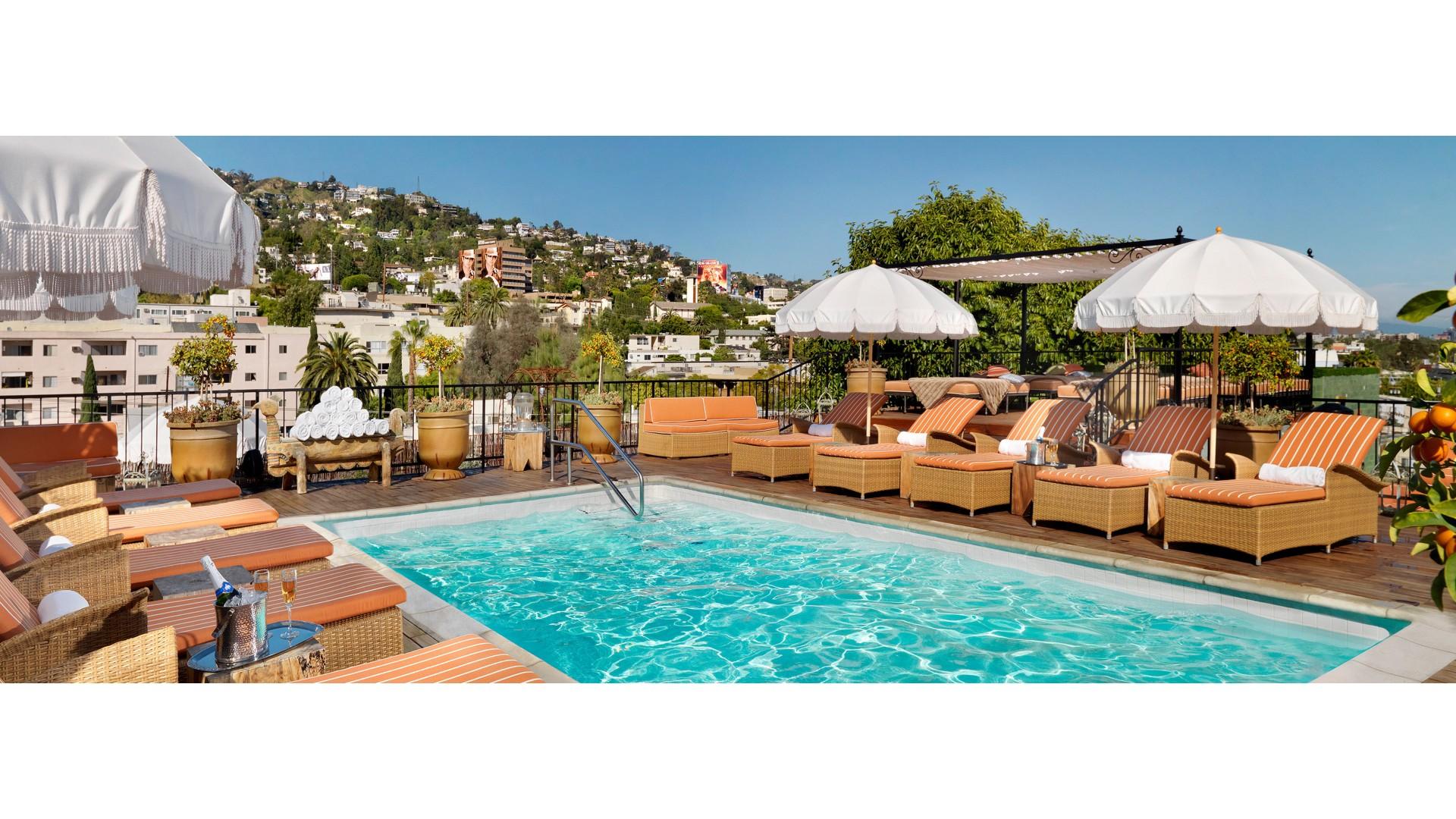 Petit Ermitage hotel West Hollywood Los Angeles California