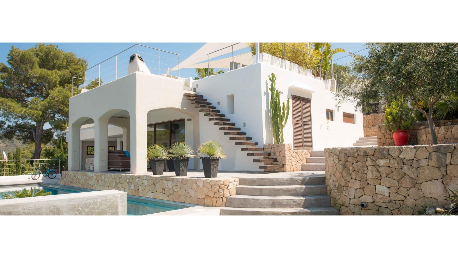 Can Serenidad Luxury villa in Ibiza Balearic Islands Smith