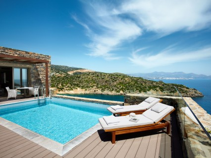 Daios Cove Luxury Resort Villas Crete Greece View Hotel