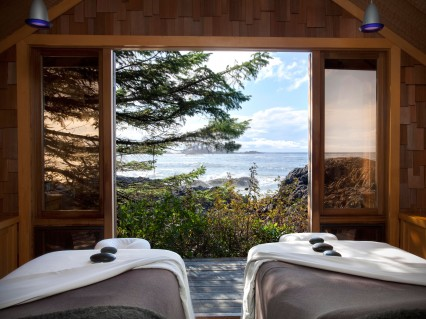 Wickaninnish Inn Vancouver Island Canada View Hotel