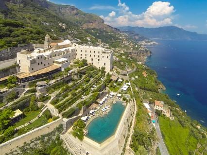 Monastero Santa Rosa Amalfi Coast Italy View Hotel