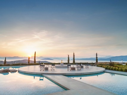 Amanzoe East Peloponnese Greece View Hotel