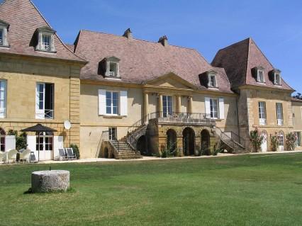 Château Les Merles Dordogne France View Hotel