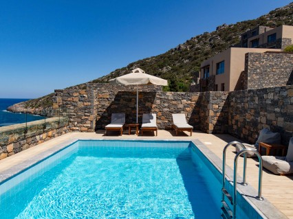 Daios Cove Two Bedroom Sea View Wellness Villa With A Private Pool Crete Greece