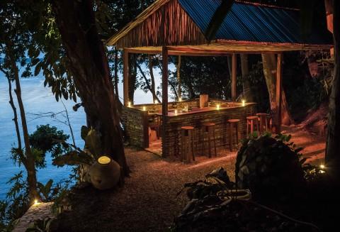 Lake Peten Itza, Tikal, Guatemala.