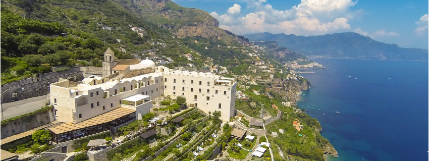 Monastero Santa Rosa Amalfi Coast Italy