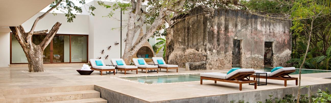 Chabl resort spa hotel merida m rida yucat n for Hotel luxury merida