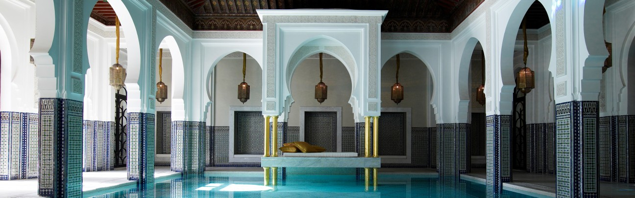 La mamounia hotel medina marrakech smith hotels for Hotel design marrakech