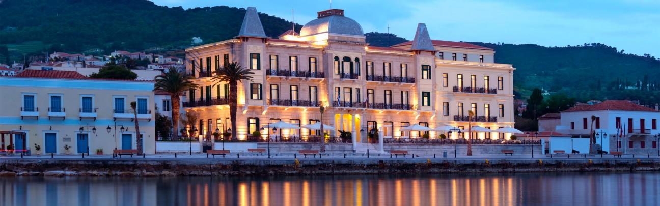 Poseidonion grand hotel spetses smith hotels - The star shaped villa ...