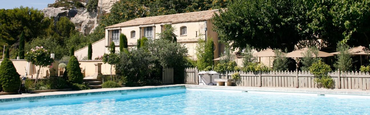 Baumani re les baux de provence hotel bouches du rh ne - Office du tourisme des baux de provence ...