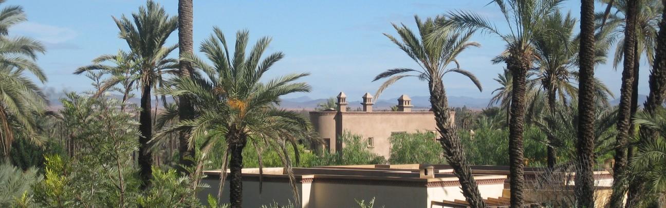Jnane Tamsna Hotel - Marrakech - Morocco