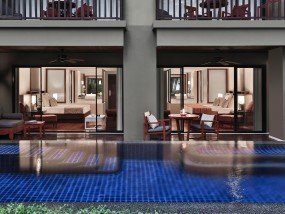 Two Bedroom Family Pool Terrace Suite